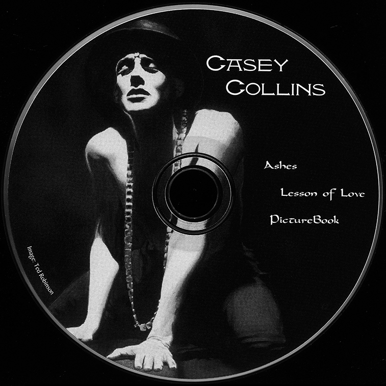 Portrait Drawing of Casey Collins using CD