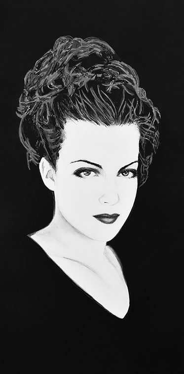 Portrait Drawing of Elodie 2