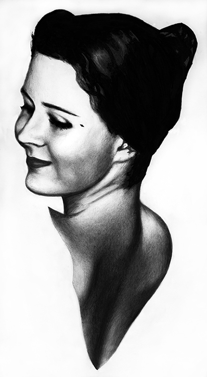 Portrait Drawing of Melinda