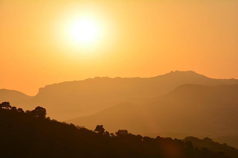 Misc. Photography of Andalusian Sunset