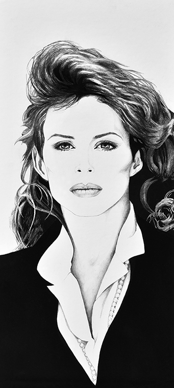 Portrait Drawing of Carolyn 1